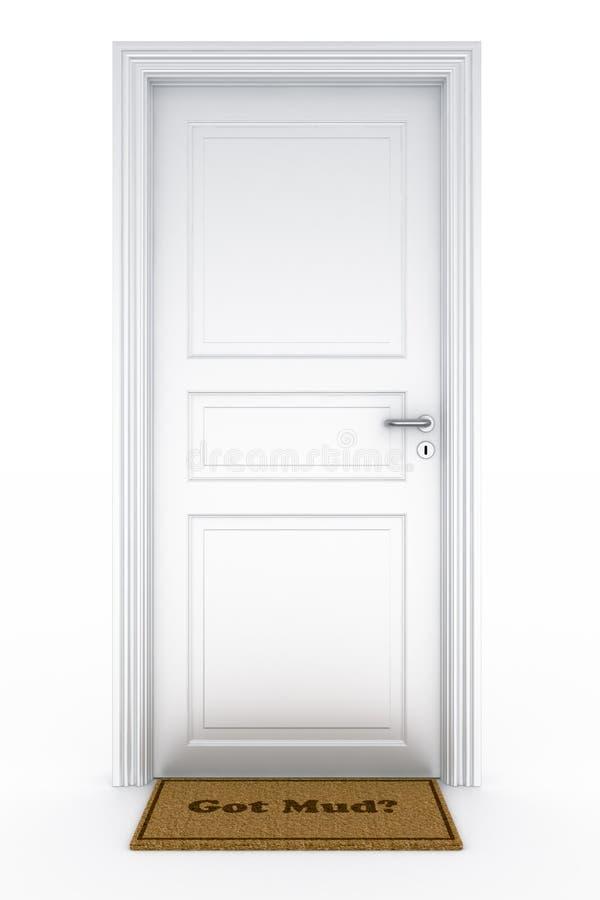 Download Door with stock illustration. Image of sign, welcome, door - 9299829