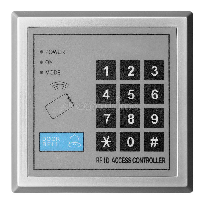 Door access controller royalty free stock images