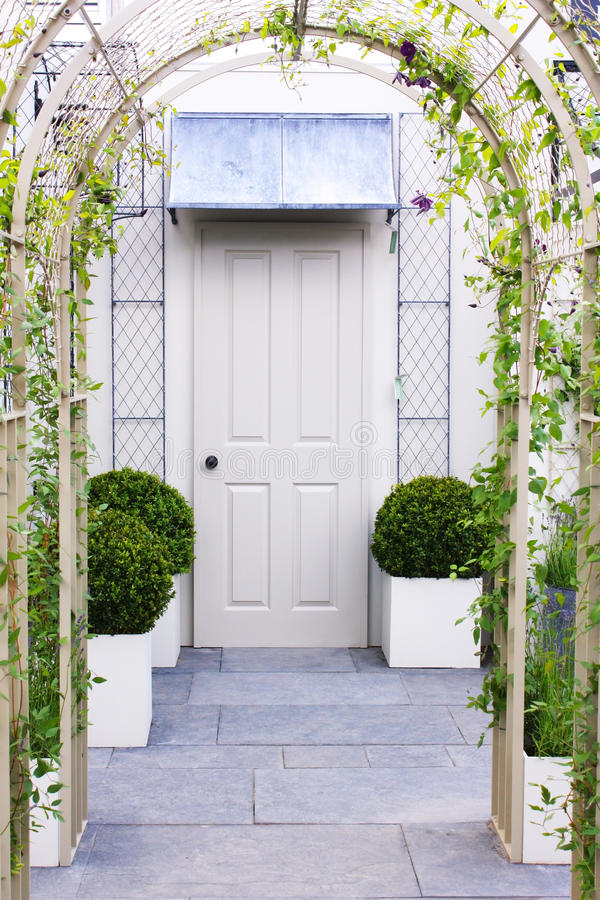 Download Door with arch stock image. Image of entrance, nature - 13843961