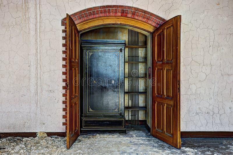 Door, Arch, Wood, Window stock photo