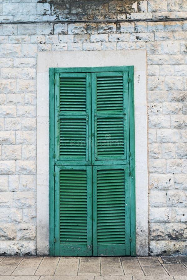 A door in Bari royalty free stock images