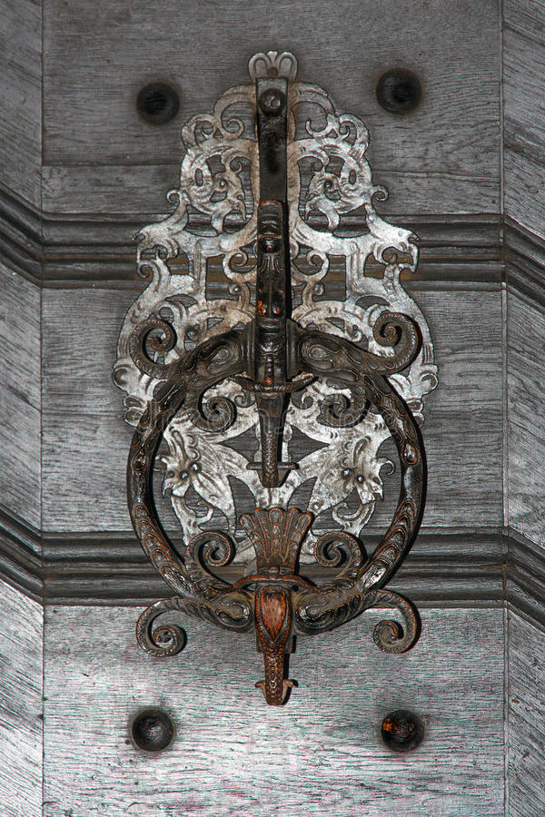 Antique Door Bell Ring royalty free stock images