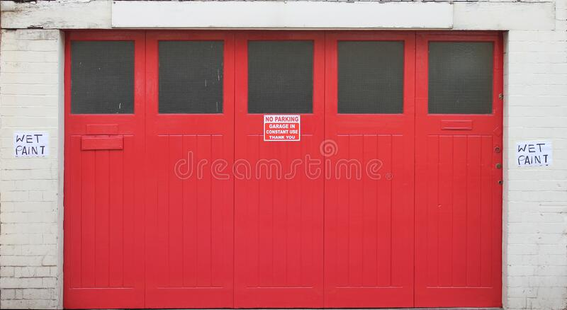 Door Big Red Free Public Domain Cc0 Image
