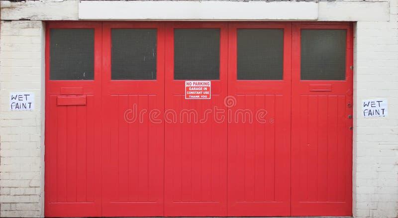 Door Big Red Free Public Domain Cc0 Image