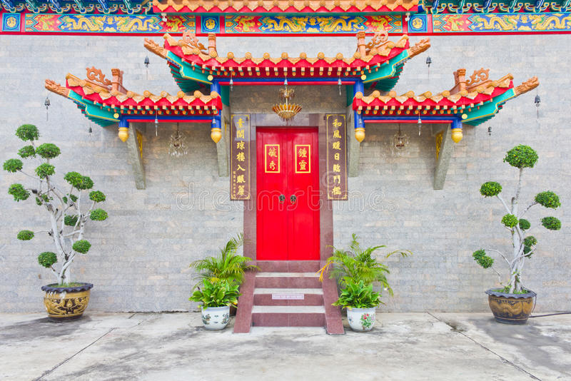 Download The Door Of Chinese Temple Royalty Free Stock Photo - Image: 25748725