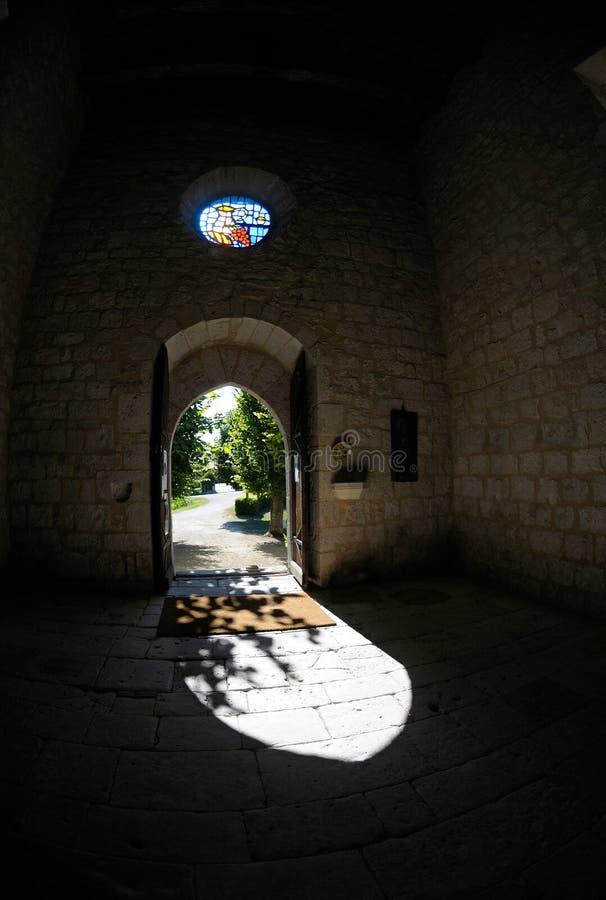 Door-church stock image