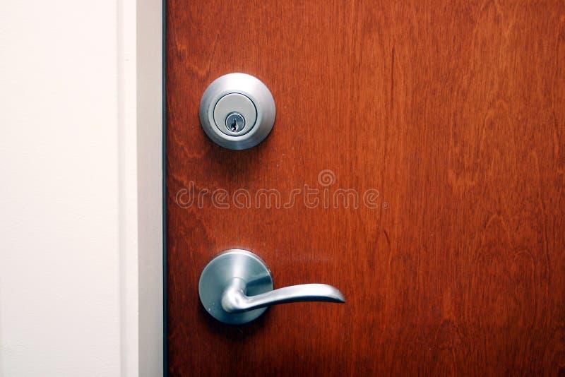 Download A Door With Deadlock Royalty Free Stock Photography - Image: 13634707 & A Door With Deadlock Royalty Free Stock Photography - Image: 13634707 Pezcame.Com