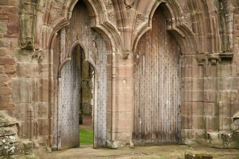 Download Door Detail Of Tintern Abbey Stock Photo - Image: 7097044