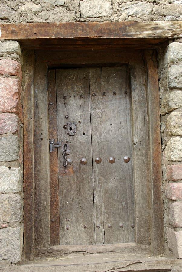 Download Door in Ethiopia stock image. Image of village, wood - 24885251
