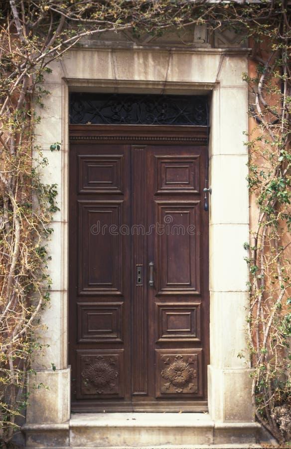Download Door, France 2 stock image. Image of detail, entrance, france - 193853