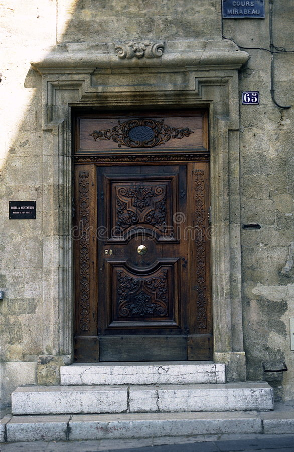 Door, France 6 Royalty Free Stock Photography