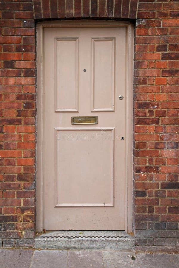Download Door front stock photo. Image of entrance, wood, building - 26032960