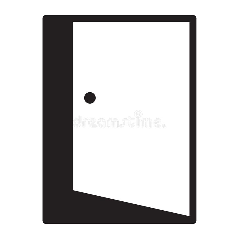 Door. Furniture icon suitable with your content