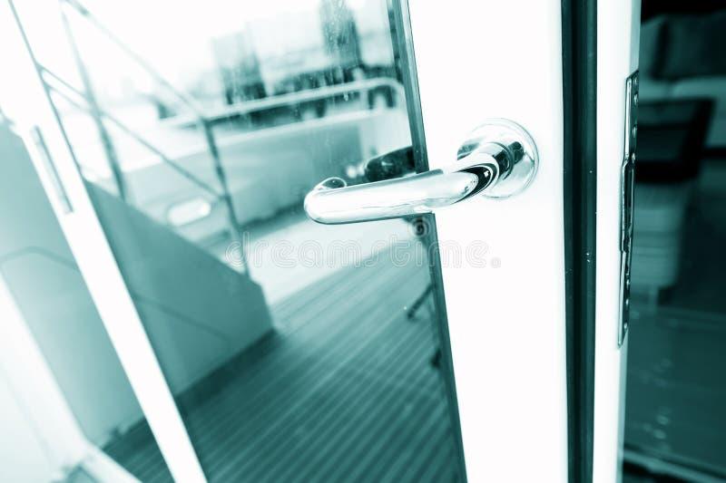 The door handle stock images