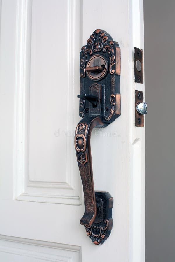 Download Door handle stock image. Image of macro, open, doorway - 17055705