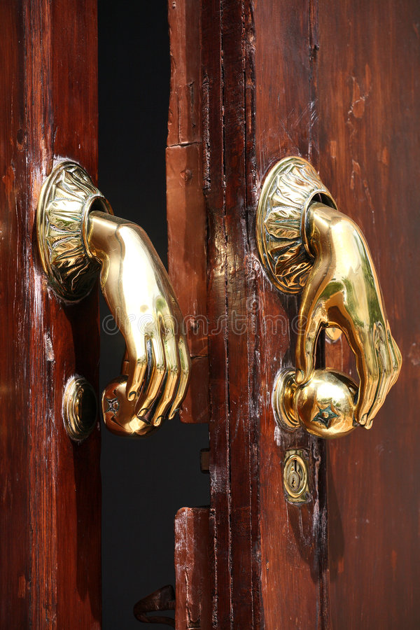 Free Door Handle Royalty Free Stock Photo - 5704425