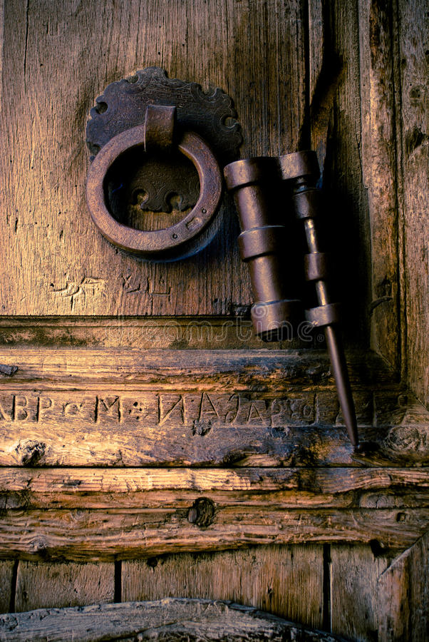 Download Door Handle and Knocker stock photo. Image of entrance - 22906776