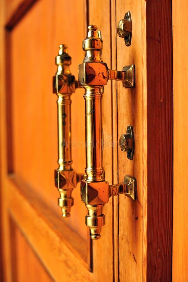 Download Door handles stock image. Image of wooden, furniture - 27980691