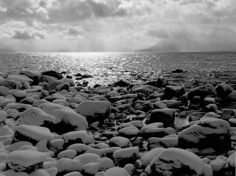 Door Het Meer Stock Foto's