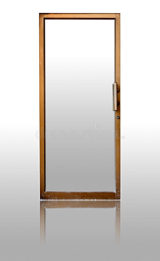 Door. At home or office building royalty free stock image