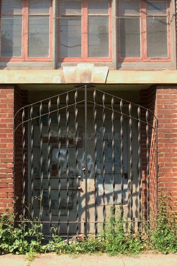 Download Door With Iron Grating Stock Photo - Image: 9720