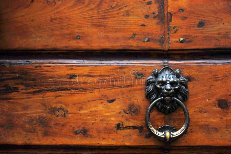 Download Door Italian Metal Lion Knocker Stock Photo - Image: 18464332