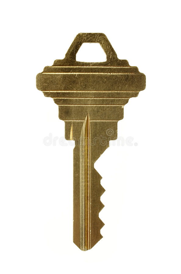 Download Brass Key. Royalty Free Stock Photos - Image: 1866798