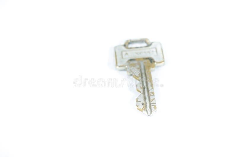 Door key well used stock photo