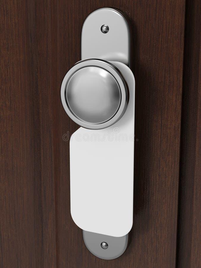 Download Door knob stock illustration. Image of lock, entrance - 15446868
