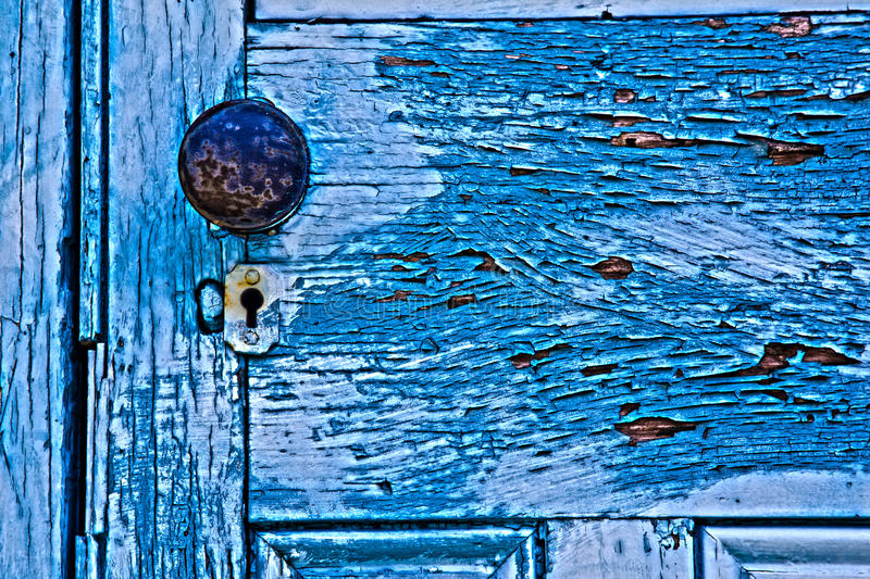 Download Door knob stock photo. Image of blue, classic, keyhole - 23658278