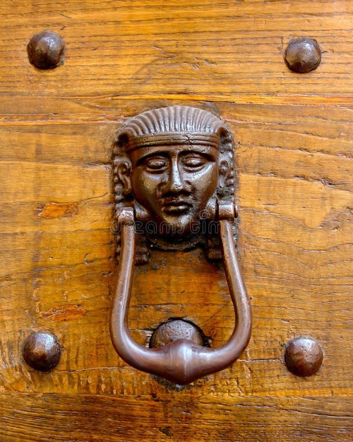 Download Door knocker #1 stock photo. Image of europe, face, egypt - 2300360