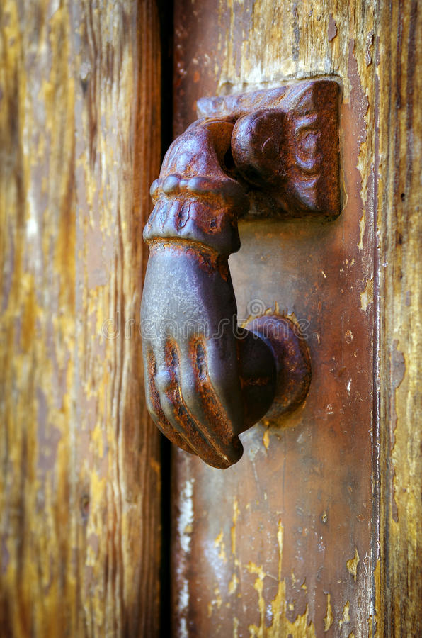 Free Door Knocker Royalty Free Stock Images - 23471199