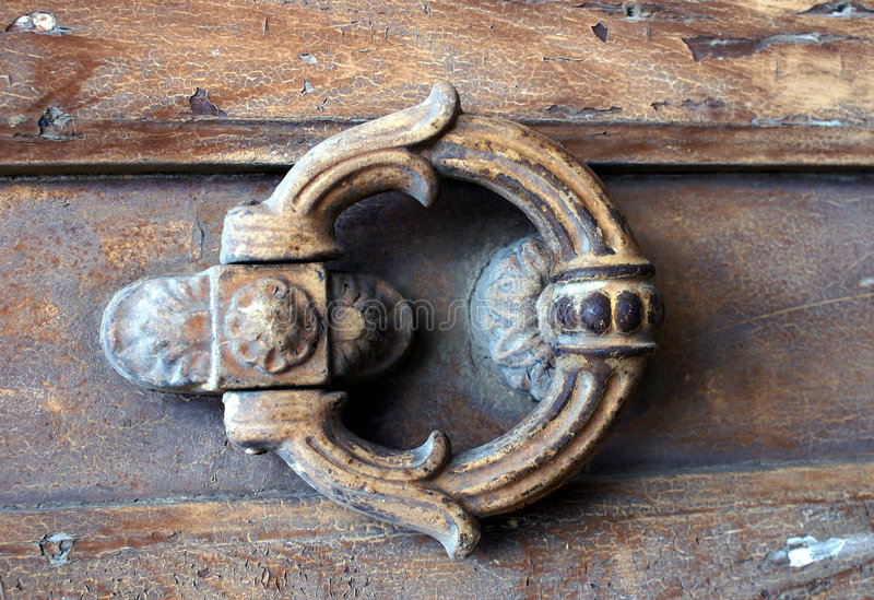 Free Door Knocker Royalty Free Stock Photo - 7085155