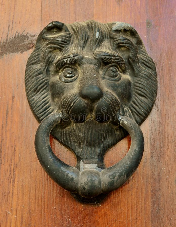 Door knocker royalty free stock photo