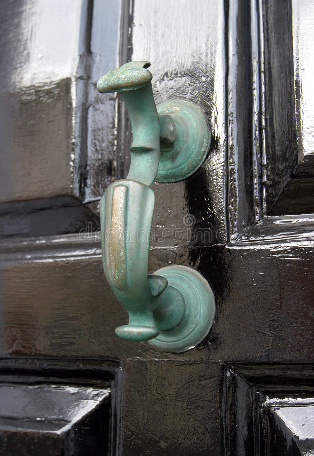 Door Knocker, Georgian royalty free stock photos
