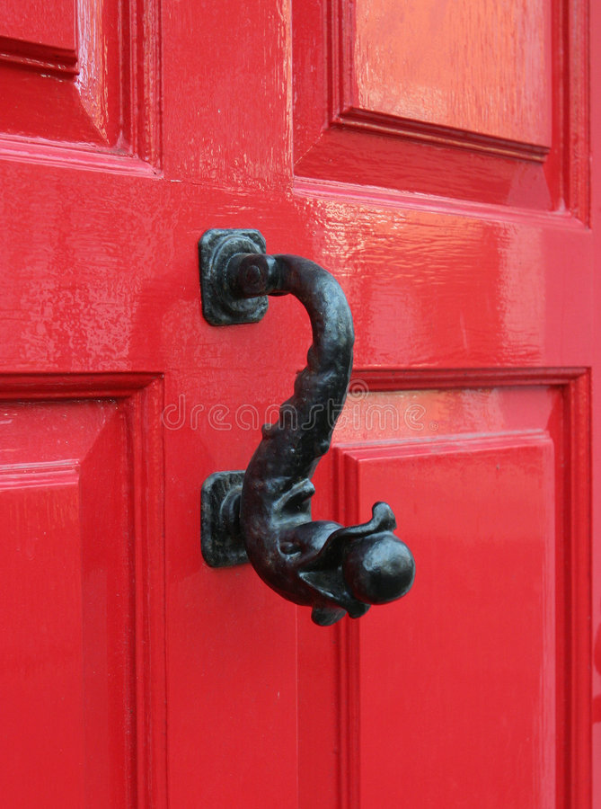 Door Knocker, Georgian royalty free stock photo