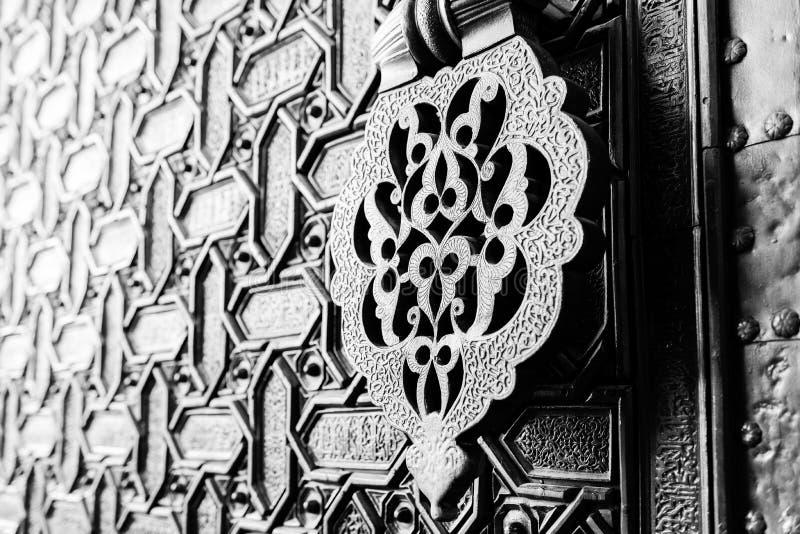 Door knocker in Seville stock images