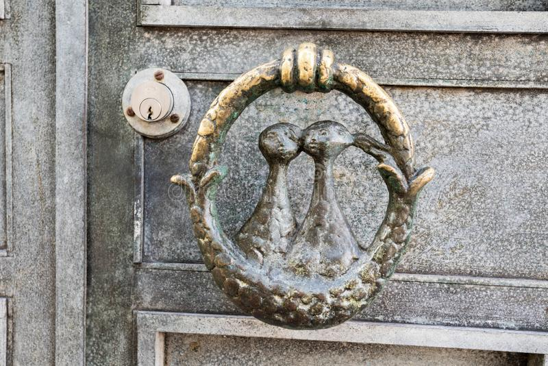 An Door knocker royalty free stock image