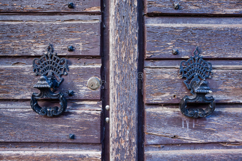 The Door knockers royalty free stock photos