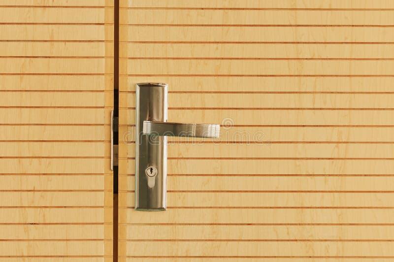Download Door lock stock photo. Image of home, wood, detail, rich - 21589046