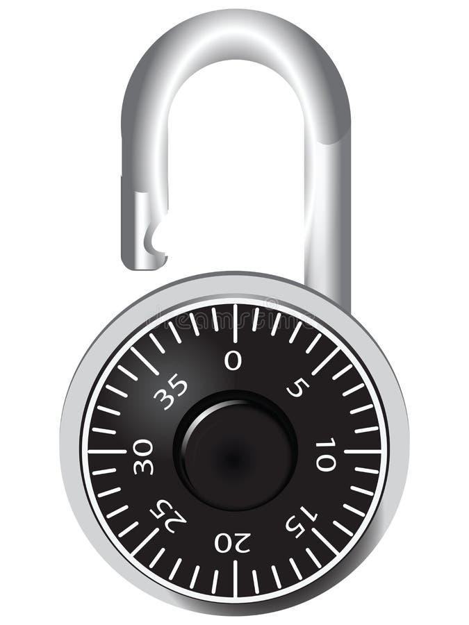 Door lock royalty free illustration