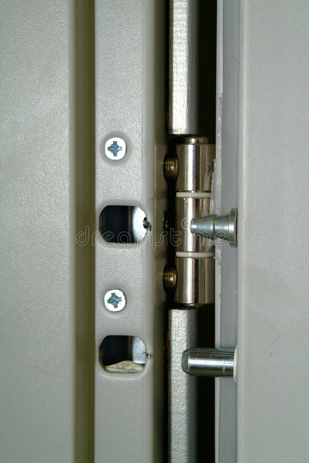 Download Door-lock stock image. Image of fragment, closed, modern - 5734329
