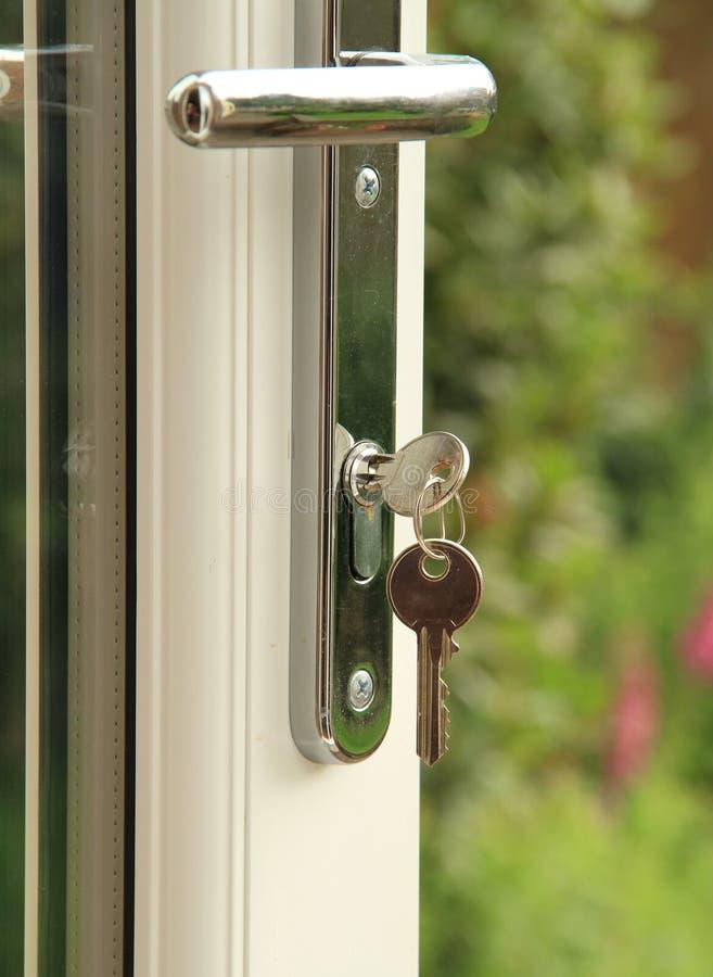 Download Door Lock And Key Stock Photo - Image: 19848910