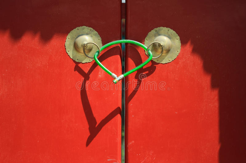 Door and Lock royalty free stock images