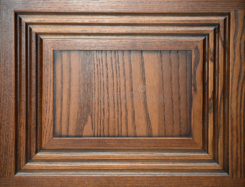Door made out of chestnut wood royalty free stock images