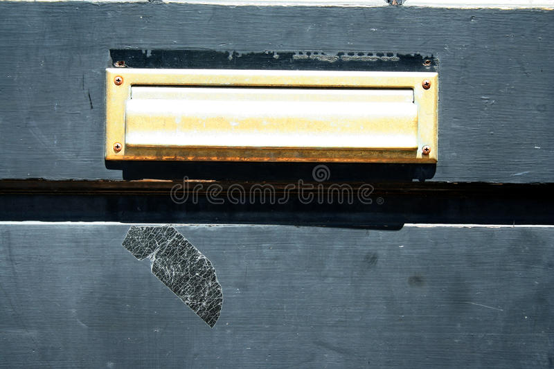 Download Door mail slot stock image. Image of wood, letterbox - 31271317