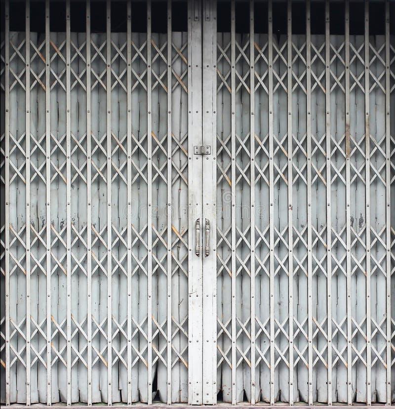 Door metal. For background in design work stock photography
