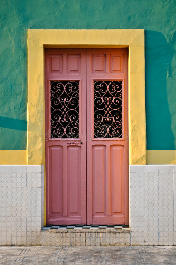 Door of Mexico stock image