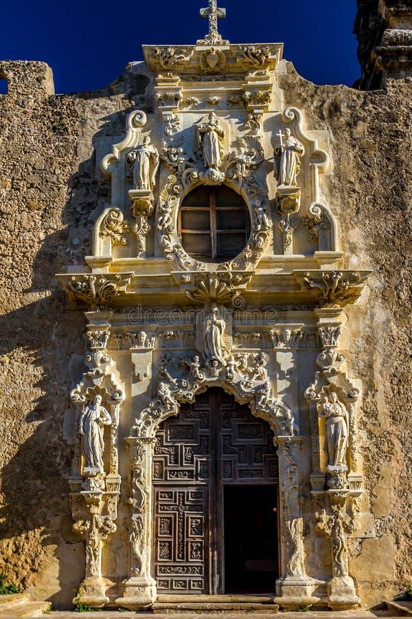 Download Door Of The National Park Spanish Mission San Jose, San Antonio,  Texas.