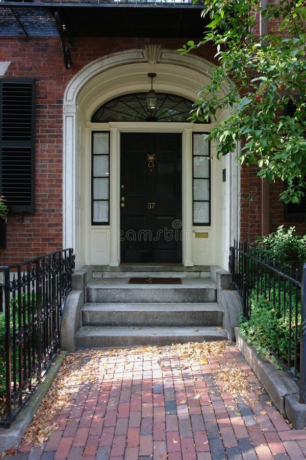 Download Door Number Thirty Seven Boston Stock Image - Image: 1286489